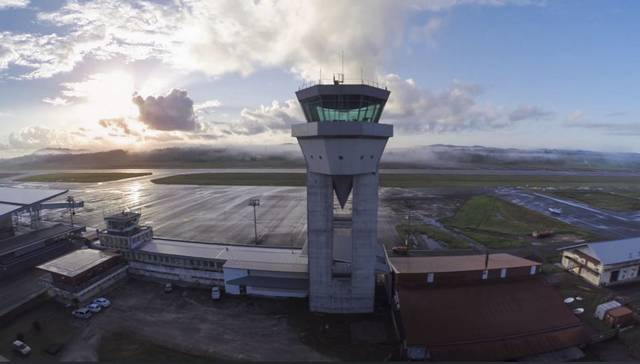 Cayenne airport - Control tower