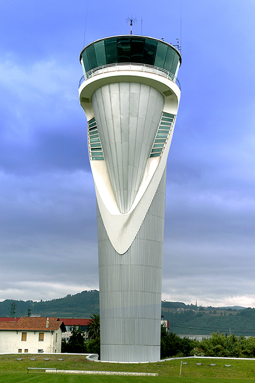 Bilbao Airport- Control tower