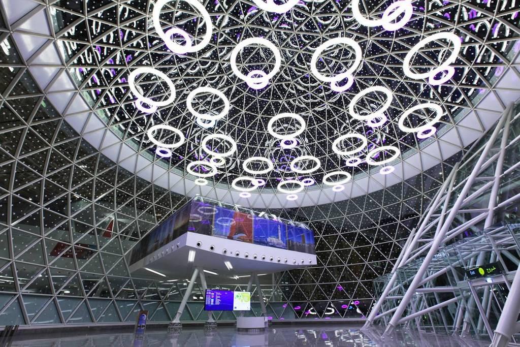 Marrakech New terminal - Internal view