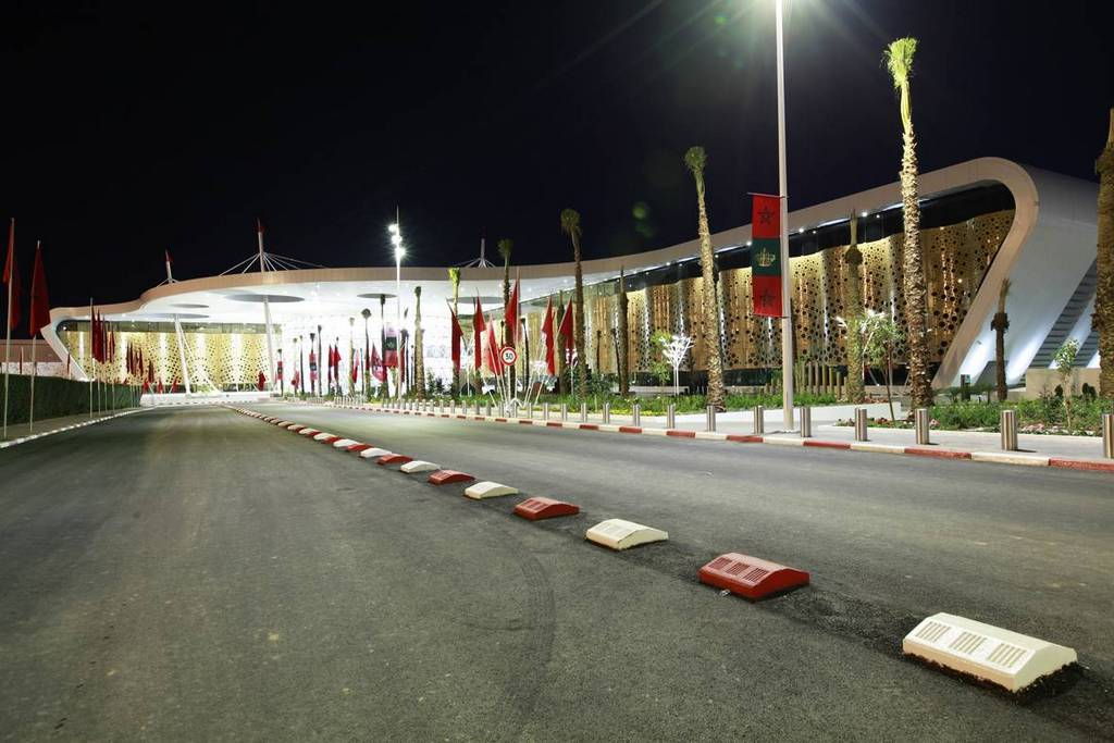 Marrakech New terminal - External view